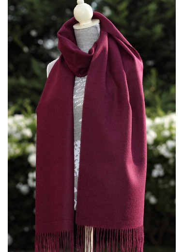 Scarf Plain Wine