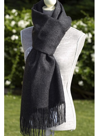 Scarf Plain Marengo Grey
