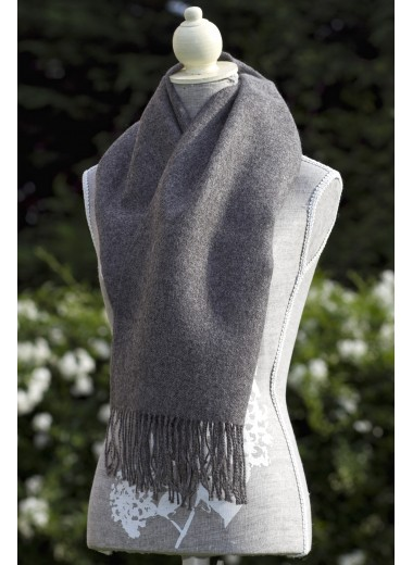 Scarf Plain Grey