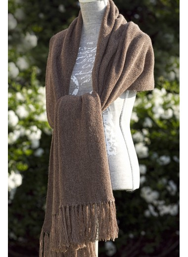 Scarf Coffee Brown