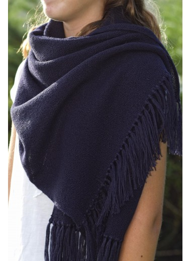 Scarf Navy Blue