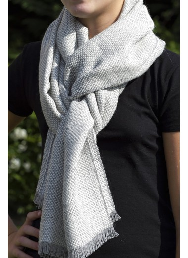 Scarf Two-Tone Grey SOLD OUT