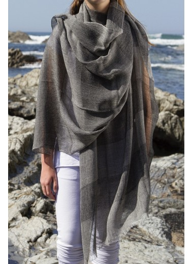Black Band Pashmina SOLD OUT